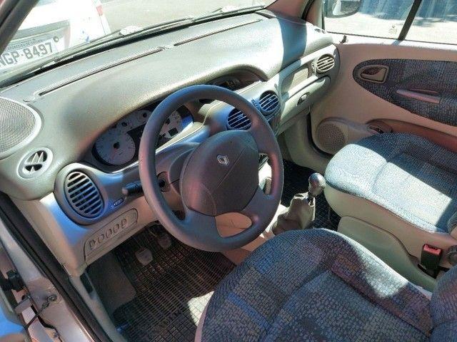 Renault Scenic Authentic Completo 1.6 Flex 4 Portas Prata 2005 - Foto 5