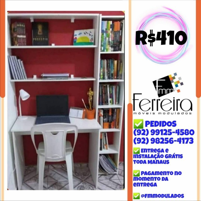 56. Promoção Kit Escritório = Mesa+Nicho+Prateleira+Torre :) - Foto 2
