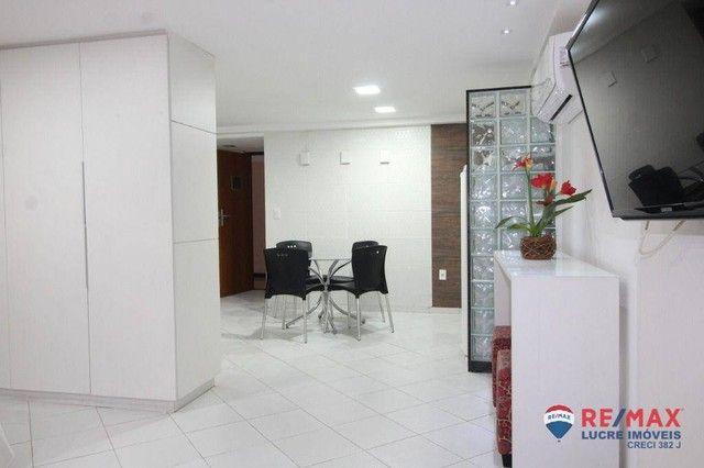 Apartamento com 1 dormitório à venda, 66 m² por R$ 310.000,00 - Cabo Branco - João Pessoa/ - Foto 17