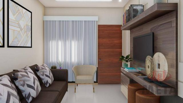 Casa com 2 dormitórios à venda por R$ 235.000,00 - Santa Catarina - Joinville/SC - Foto 2