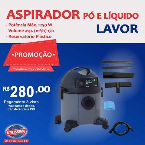 Aspirador De Pó E líquidos Lavor Compact