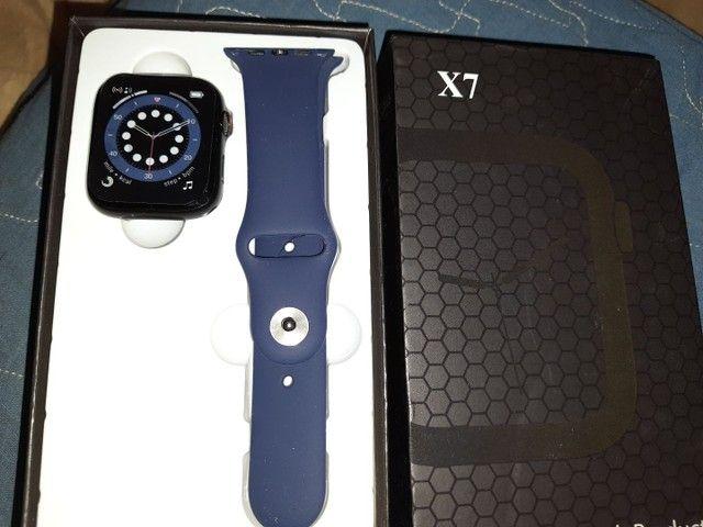SmartWatch Iwo 14 X7 Atende ligação Entrego
