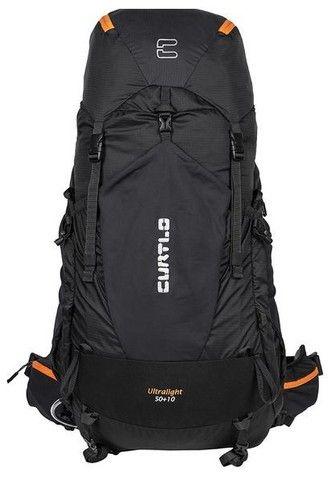 Mochila Curtlo Ultralight 50+10L nova + capa de chuva