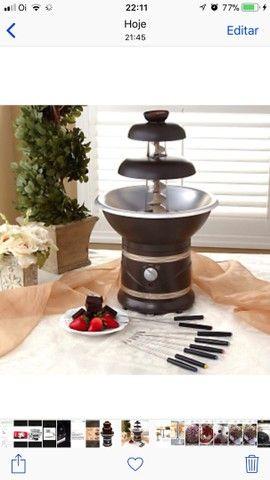 Máquina de chocolate grande  - Foto 3