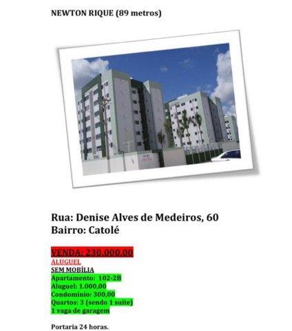 Apartamento no Residencial Newton Rique