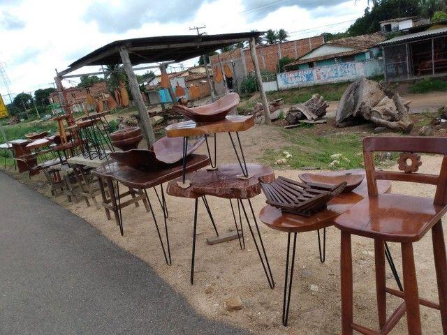 Móveis  e peças para sua casa rústicos em madeira de jaqueira - Foto 2