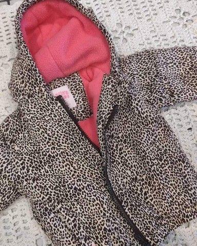 Jaqueta infantil feminina  - Foto 4
