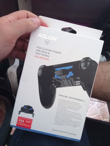 Paddle PS4 troco ou vendo