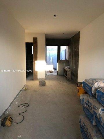 Casa para Venda em Ponta Grossa, Vila Hilgemberg, 2 dormitórios, 1 banheiro, 2 vagas - Foto 4
