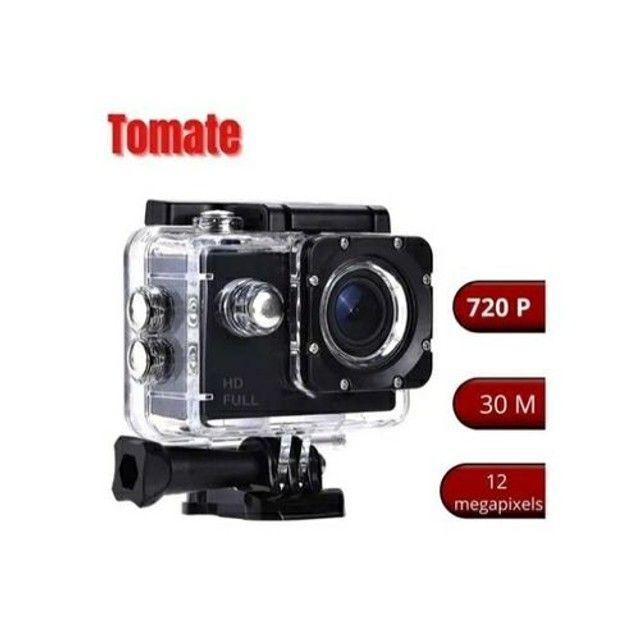 Câmera sportiva Tomate MT-1081 4K preta<br><br><br> - Foto 4