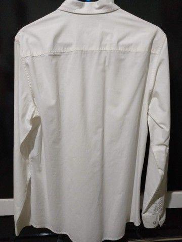 Camisa Calvin Klein - Tamanho M Off-White