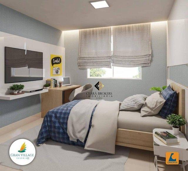 Apartamento no Eusébio com 2 dormitórios à venda, 49 m² por R$ 169.735 - Eusébio - Eusébio - Foto 5