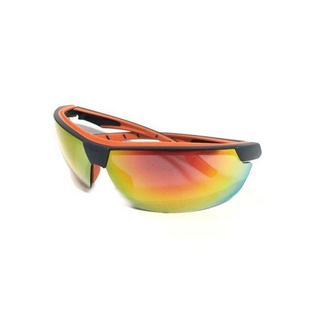 Óculos Proteção UV Espelhado - Anti Embaçante - Anti Risco - Ciclismo - Pesca - Foto 2