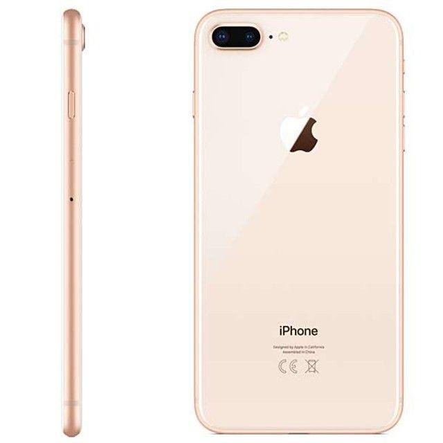 "Apple iPhone 8 Plus A1864 Swap 64GB Tela Retina de 5.5"" 12MP / 7MP iOS - Dourado - Foto 3"