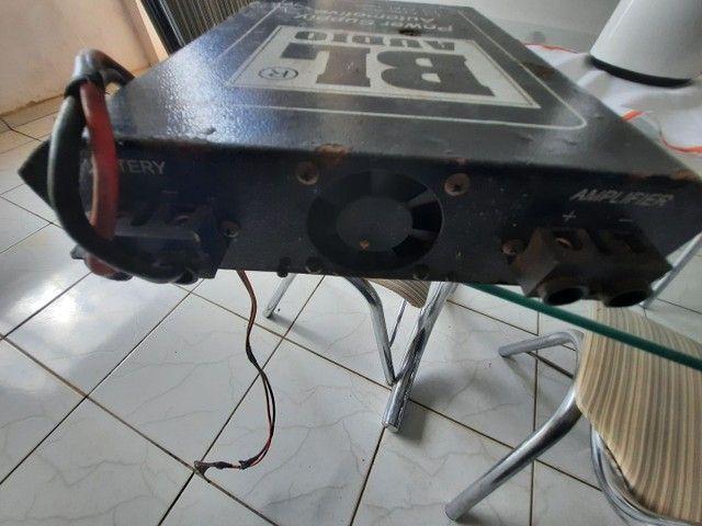 Fonte som automotivo 70 amperes por 450.oo reais pra vender logo - Foto 2