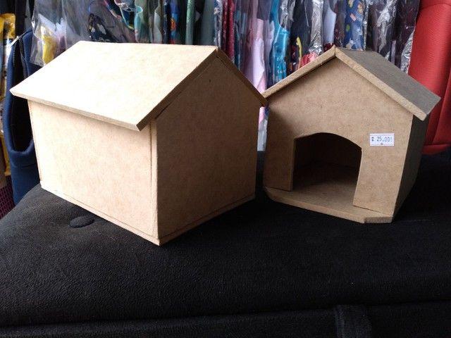 Casinha de madeira para hamsters - Foto 3