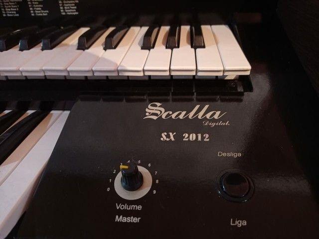 Órgão eletrônico scalla digital sx 2012 - Foto 5