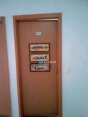 Apartamento com 2 dormitórios para alugar, 39 m² por R$ 620,00/mês - São Luiz - Gravataí/R - Foto 3
