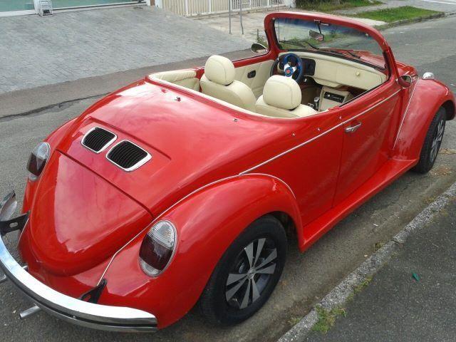 Vw - Volkswagen Fusca Cabriolet - Foto 2