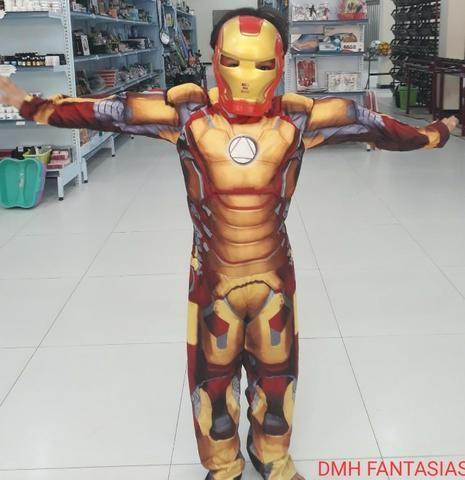 Fantasia homem infantil de ferro apenas 220,00 ate 4x nos cartoes - Foto 2