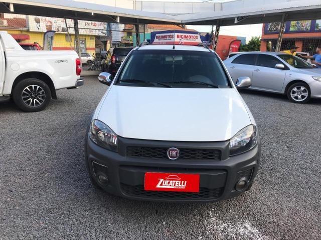 Fiat Strada Working Flex Cabine dupla 2014/2015 - Foto 2