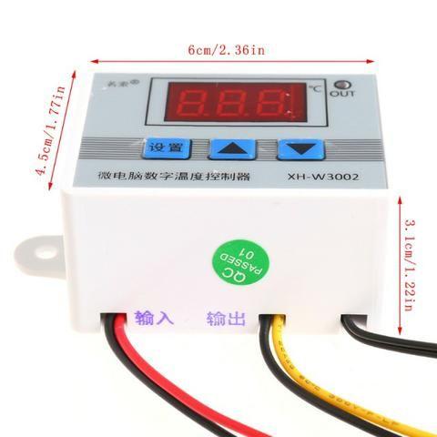 Controlador Temperatura Termostato Digital Chocadeira Estufa - Foto 5