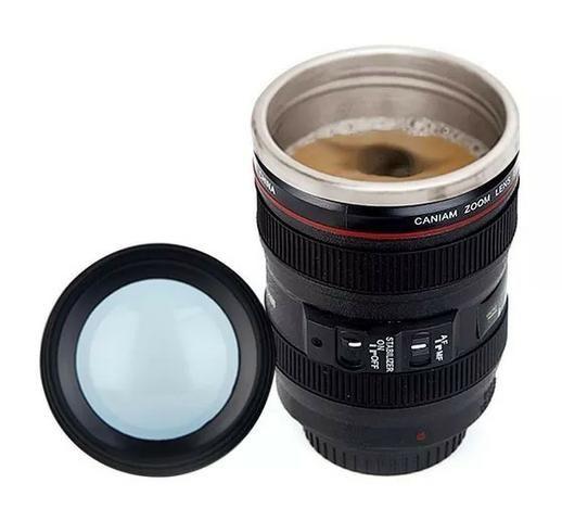 Copo Térmico com Lente Câmera x 12x R$ 6,99 x Entrega Grátis - Foto 5