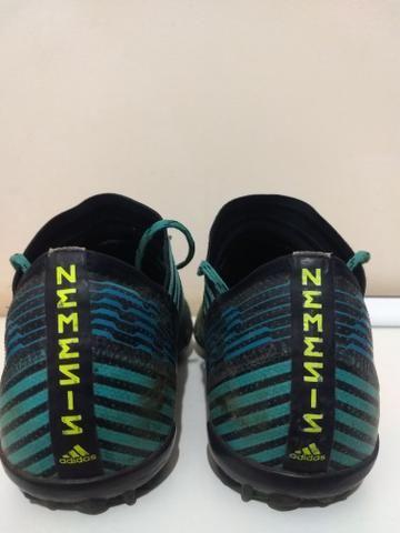 Chuteira Adidas Nemeziz society (usada) - Foto 3