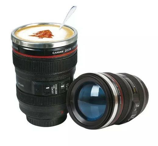 Copo Térmico com Lente Câmera x 12x R$ 6,99 x Entrega Grátis - Foto 2