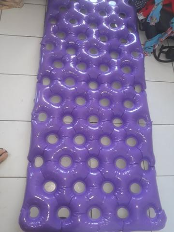 Colchão inflável caixa de ovo, poucos dias de uso - Foto 3
