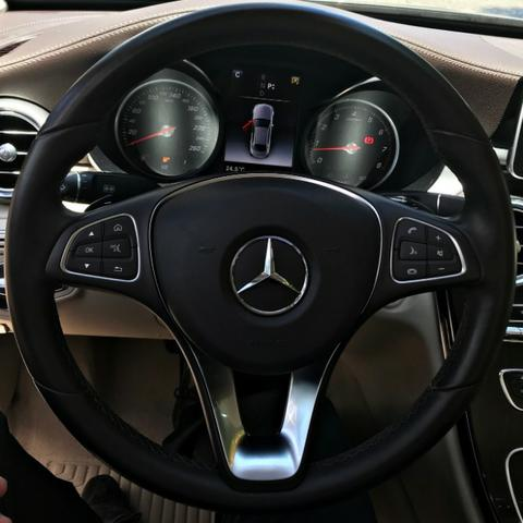 Mercedes Benz C180 Exclusive 1.6 Turbo. Cinza 2017/2018 - Foto 11