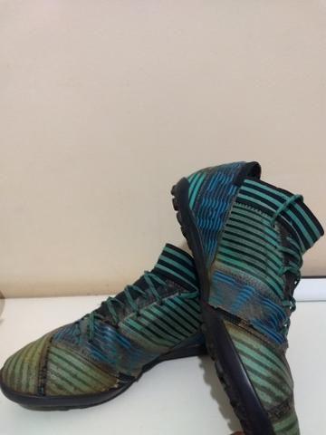 Chuteira Adidas Nemeziz society (usada) - Foto 4