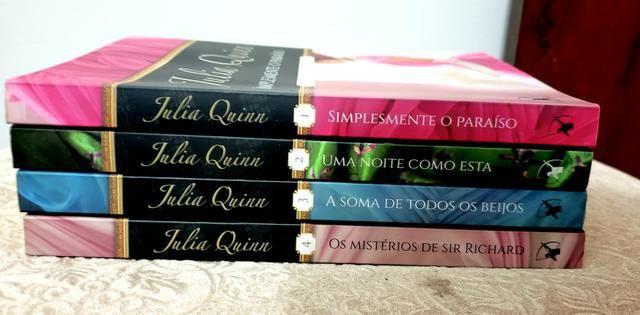 """Livros """"quarteto smithe-smith"""""""