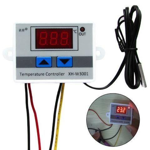 Controlador Temperatura Termostato Digital Chocadeira Estufa - Foto 2