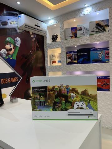 Xbox One S 1 tb 4k com jogo