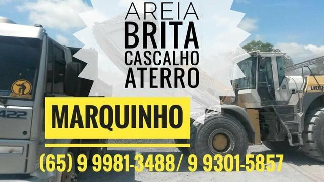 Disk Entrega Areia Brita Cascalho Aterro