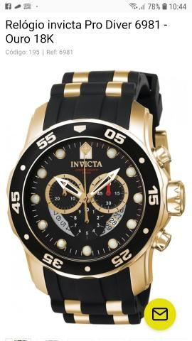 0aa552ee1ff Relógio Invicta Original - Bijouterias