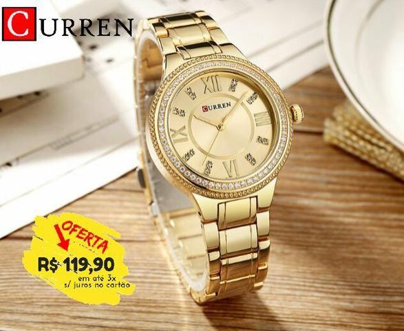 f1f7dfa6d62 Relógio luxo feminino pra vender logo - Bijouterias