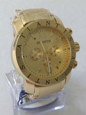 7a5f367871f Relógios Atlantis- Somente Atacado- Diversos Modelos- Aceitamos Cartões