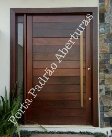 Portas de madeira maciça para Curitibanos - Foto 5