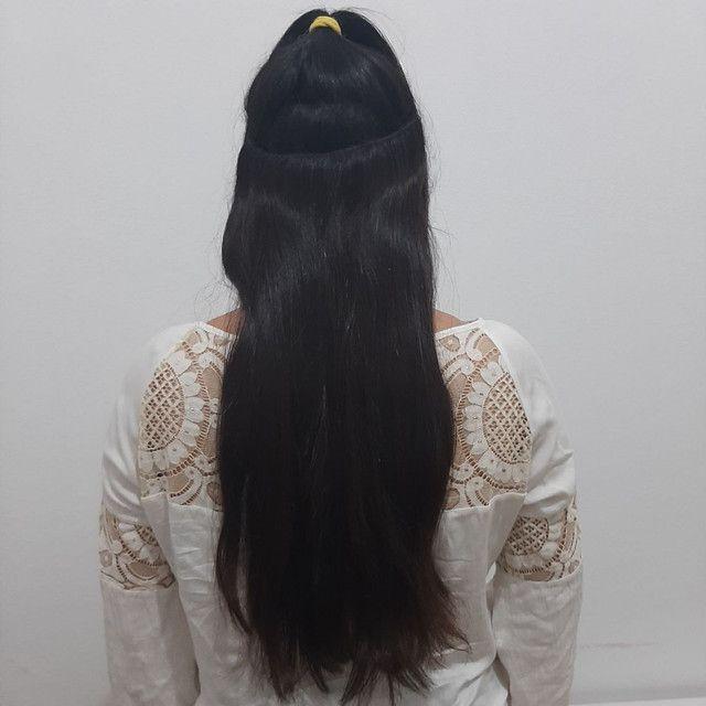 Mega hair - uso com tic tac ou costurado