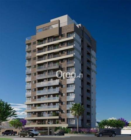 Apartamento com 2 dormitórios à venda, 59 m² por R$ 257.000,00 - Parque Amazônia - Goiânia