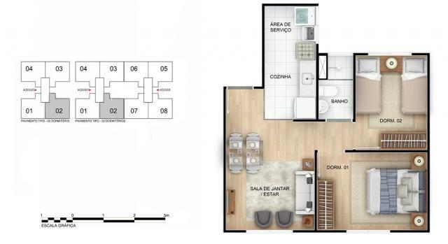 Apartamento para Venda em Rio de Janeiro, Braz de Pina, 2 dormitórios, 1 banheiro, 1 vaga - Foto 11