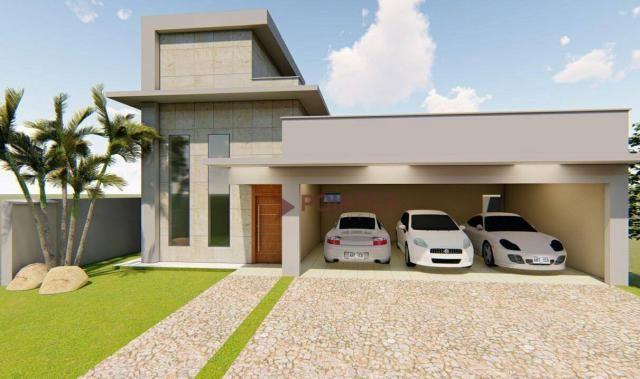 Casa à venda, 240 m² por R$ 1.400.000,00 - Cond Do Lago - Goiânia/GO