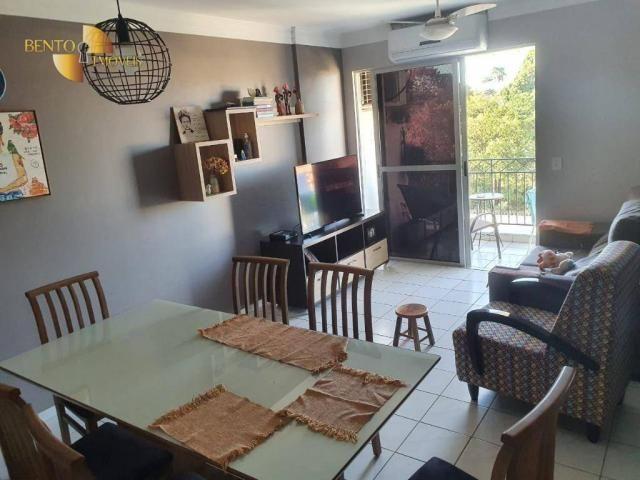Apartamento com 3 dormitórios à venda, 88 m² por R$ 340.000,00 - Jardim das Américas - Cui