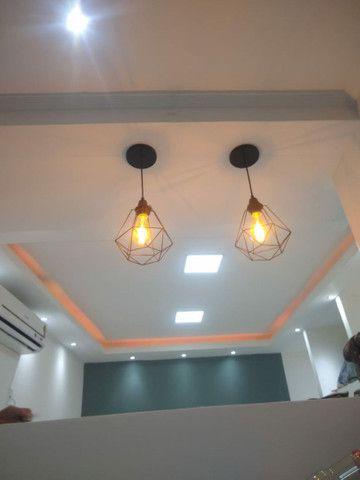 Rebaixamento de teto, divisórias e móveis planejados em drywall - Foto 5