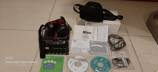 Camera semi profissional l810