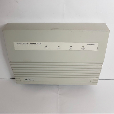 Repetidor De Fibra Optica Modicon 490nrp95400 Schneider