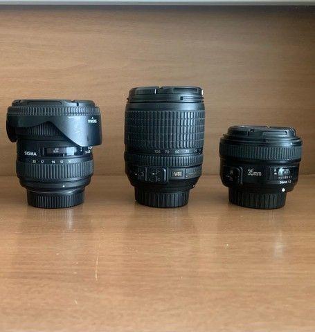 Leia a Descricao - Lentes para Nikon 35mm / 10-20mm / 18-105mm