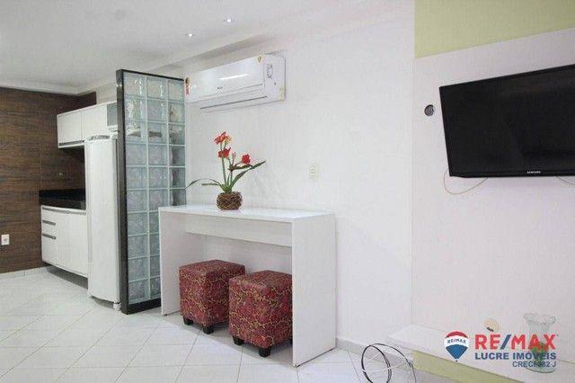 Apartamento com 1 dormitório à venda, 66 m² por R$ 310.000,00 - Cabo Branco - João Pessoa/ - Foto 19